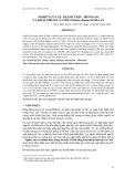 """Báo cáo khoa học: """"  NGHIÊN CỨU SỰ THÀNH THỤC TRONG AO VÀ KÍCH THÍCH CÁ CÒM (Chitala chitala) SINH SẢN"""""""