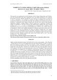 """Báo cáo khoa học: """" NGHIÊN CỨU ƯƠNG GIỐNG CÁ KẾT (Micronema bleekeri) BẰNG CÁC LOẠI THỨC ĂN KHÁC NHAU"""""""