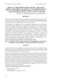 """Báo cáo khoa học: """" KHẢO SÁT TÌNH HÌNH SỬ DỤNG THUỐC - HÓA CHẤT TRONG NUÔI TÔM VÀ SỰ TỒN LƯU CỦA ENROFLOXACIN VÀ FURAZOLIDONE TRONG TÔM SÚ (Penaeus monodon"""""""