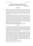 """Báo cáo khoa học: """"NGHIÊN CỨU KHẢ NĂNG SỬ DỤNG OZONE TRONG ƯƠNG ẤU TRÙNG TÔM SÚ (Penaeus monodon) Nguyễn Lê Hoàng Yến1"""""""