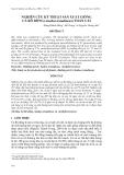 """Báo cáo khoa học: """" NGHIÊN CỨU KỸ THUẬT SẢN XUẤT GIỐNG CÁ RÔ ĐỒNG (Anabas testudineus) TOÀN CÁI"""""""