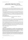 """Báo cáo khoa học: """"MỘT SỐ KHÍA CẠNH KỸ THUẬT VÀ KI NH TẾ MÔ HÌNH NUÔI CÁ CHÌNH (Anguilla sp.) Ở CÀ MAU"""""""