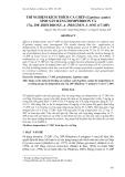 """Báo cáo khoa học: """" THÍ NGHIỆM KÍCH THÍCH CÁ CHÉP (Cyprinus carpio) SINH SẢN BẰNG DOMPERIDON VÀ 17α, 20P–DIHYDROXY–4 –PREGNEN–3–ONE (17-20P)"""""""