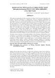 Báo cáo NGHIÊN CỨU KHOA HỌC KỸ THUẬT: KHẢO SÁT SỰ TỒN TẠI CỦA CÁ HEO NƯỚC NGỌT (Orcaella brevirostris) Ở LƯU VỰC SÔNG MÊKÔNG CỦA VIỆT NAM
