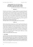 """Báo cáo khoa học: """"  ẢNH HƯỞNG CỦA CÁC LOÀI TẢO LÀM THỨC ĂN LÊN SỰ PHÁT TRIỂN CỦA QUẦN THỂ Microsetella norvegica"""""""