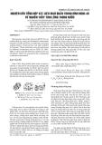 BÁO CÁO NGHIÊN CỨU KHOA HỌC KỸ THUẬT: NGHIÊN CỨU TỔNG HỢP VẬT LIỆU MAO QUẢN TRUNG BÌNH MCM-48 TỪ NGUỒN THỦY TINH LỎNG TRONG NƯỚC
