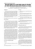 BÁO CÁO NGHIÊN CỨU KHOA HỌC KỸ THUẬT: 75  USING IN VITRO PROPAGATION TO PRESERVE Glyptostrobus pensilis (Staunton ex.)