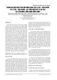 BÁO CÁO NGHIÊN CỨU KHOA HỌC KỸ THUẬT:  ĐÁNH GIÁ HIỆU QUẢ CỦA MÔ HÌNH CANH TÁC 2 LÚA - ĐẬU NÀNH VÀ 2 LÚA - ĐẬU NÀNH - CÁ TRÊN NỀN ĐẤT 3 VỤ LÚA TẠI TAM BÌNH, VĨNH LONG 2004-2007