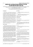 BÁO CÁO NGHIÊN CỨU KHOA HỌC KỸ THUẬT: NGHIÊN CỨU QUY TRÌNH ĐỂ SẢN XUẤT chitosan màng từ SHELL TÔM VÀ XIN màng chitosan trong COSERVATION THUỶ SẢN