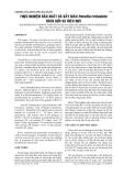 BÁO CÁO NGHIÊN CỨU KHOA HỌC KỸ THUẬT: Thí nghiệm sản xuất Poecilia reticulata tất cả nam giới và SUPERMALES