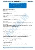 Khóa học Luyện đề thi đại học môn Toán – Thầy Phan Huy