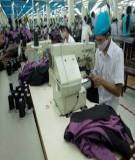 Bài 2: Lập kế hoạch sản xuất trong xí nghiệp may