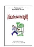Giáo trình An toàn lao động và môi trường công nghiệp - Chương 1