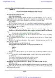 Giáo trình An toàn lao động và môi trường công nghiệp - Chương 9