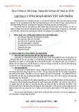 GIÁO TRÌNH CÔNG NGHỆ MAY TRANG PHỤC 2 - CHƯƠNG V: CÔNG ĐOẠN HOÀN TẤT SẢN PHẨM