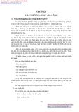 GIÁO TRÌNH CƠ SỞ CÔNG NGHỆ CHẾ TẠO MÁY - CHƯƠNG 3 CÁC PHƯƠNG PHÁP GIA CÔNG
