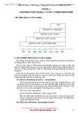 GIÁO TRÌNH QUẢN LÝ CHẤT LƯỢNG TRANG PHỤC - CHƯƠNG III PHƯƠNG PHÁP QUẢN LÝ CHẤT LƯỢNG SẢN PHẨM