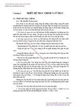 GIÁO TRÌNH THIẾT KẾ MÁY CẮT KIM LOẠI - CHƯƠNG 4 THIẾT KẾ TRỤC CHÍNH VÀ Ổ TRỤC