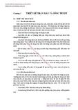 GIÁO TRÌNH THIẾT KẾ MÁY CẮT KIM LOẠI - CHƯƠNG 5 THIẾT KẾ THÂN MÁY VÀ SỐNG TRƯỢT