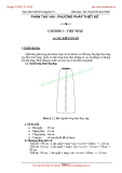 Giáo trình Thiết kế trang phục IV - Phần 2: Phương pháp thiết kế - Chương 1