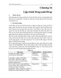 GIÁO TRÌNH MICOSOFT VISUAL BASIC - Chương 16 Lập trình Drag-and-Drop