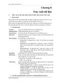 GIÁO TRÌNH MICOSOFT VISUAL BASIC - Chương 8 Truy xuất dữ liệu