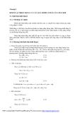 Giáo trình - Nhiệt động lực học - chương 3