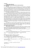 Giáo trình - Nhiệt động lực học - chương 8