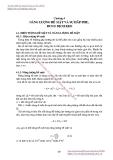 GIÁO TRÌNH HÓA LÝ LỸ THUẬT MÔI TRƯỜNG - Chương 4  NĂNG LƯỢNG BỀ MẶT VÀ SỰ HẤP PHỤ, DUNG DỊCH KEO