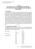 GIÁO TRÌNH HÓA LÝ LỸ THUẬT MÔI TRƯỜNG - Chương 6  HÓA HỌC CỦA CÁC THÀNH PHẦN MÔI TRƯỜNG VÀ SỰ DI CHUYỂN CHẤT Ô NHIỄM TRONG HỆ THỐNG MÔI TRƯỜNG