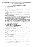 BÀI GIẢNG LUẬT DOANH NGHIỆP -   BÀI 5: CÔNG TY HỢP DANH DOANH NGHIỆP TƯ NHÂN