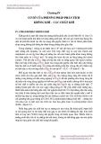 GIÁO TRÌNH VỀ PHÂN TÍCH MÔI TRƯỜNG - PHẦN 2 - CHƯƠNG 4