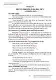 Giáo trình về phân tích môi trường -  Phần 1 - CHƯƠNG 6