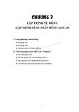 GIÁO TRÌNH CAD – CAM CNC CĂN BẢN - CHƯƠNG 3 LẬP TRÌNH TỰ ĐỘNG (LẬP TRÌNH BẰNG PHẦN MỀM CAD/CAM