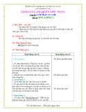 Giáo án mầm non chương trình đổi mới: Chủ đề: LỚP HỌC CỦA BÉ Đề tài: SỐ LƯỢNG 2