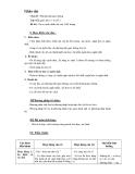 Giáo án mầm non chương trình đổi mới:  Phương tiện giao thông Lớp Mẫu giáo lớn ( 5- 6 tuổi ) -  Đề tài : Ôn so sánh chiều dài của 3 đối tượng