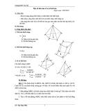 một số bài toán về tĩ số thể tích