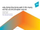 Xây dựng Ứng dụng Web trên Mạng xã hội và Chu ẩnOpen Social
