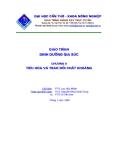 Giáo trình dinh dưỡng gia súc: Chương 8: tiêu hóa và trao đổi chất khoáng
