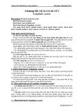Bài giảng Giải phẫu thú y - Chương VIII: Hệ bạch huyết (Nguyễn Bá Tiếp)