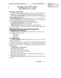Bài giảng Giải phẫu thú y - Chương X: Hệ thần kinh (Nguyễn Bá Tiếp)