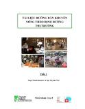Tài liệu hướng dẫn khuyến nông theo định hướng thị trường phần 1