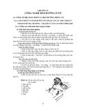 Giáo trình công nghệ bảo dưỡng và sửa chữa ô tô - Chương 4
