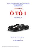 Giáo trình ô tô 1 - Chương 1