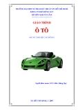 Giáo trình ô tô ( dùng cho hệ cao đẳng ) - Chương 1