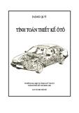 Giáo trình tính toán thiết kế ô tô - Chương 1