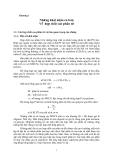 Giáo trình - Hóa lý các hợp chất cao phân tử - chương 1
