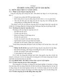 Chương 5: TỔ CHỨC CUNG ỨNG VẬT TƯ XÂY DỰNG