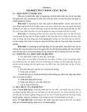 Chương 6: MARKETING TRONG XÂY DỰNG