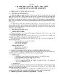 GIÁO TRÌNH ĐỊNH MỨC XÂY DỰNG CƠ BẢN - PHẦN I ĐỊNH MỨC LAO ĐỘNG VÀ THỜI GIAN SỬ DỤNG MÁY - CHƯƠNG 2